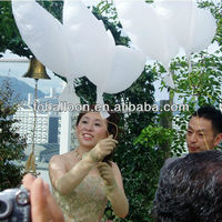2016 Wedding Helium Inflatable Biodegradable White Dove Balloons For Wedding Decoration Doves Dhaped Bio Balloons