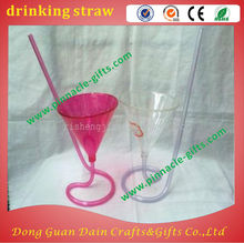 hard plastic Straw-type glasses drinking straw for bar supplies