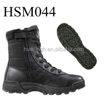 high quality government approved high quality ptarol force tactical boots