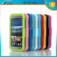 Powerful Aluminum Bumper Armor Hard Waterproof Case for HTC One M7