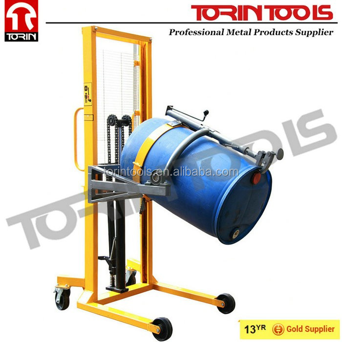 Factory Price 450kg Loading Weight Easy Operation Drum Tilter