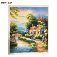 Commercial House Thomas Style Painting Handmade Oli Painting