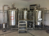 1000L Stainless steel or Red Copper claddingTurnkeyBrewery Equipment Beer Production Plant Mash Tank Brew System