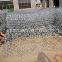 Gabion 6 mm Wire Mesh ,Carved Stone Boxes ,3x1x1 Gabion Box