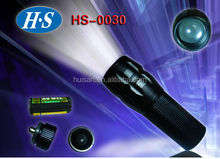 3AAA battery high power 1W led flashlight torch
