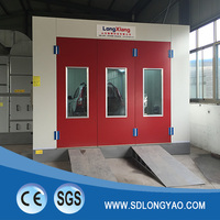 no-dust spray booth used economy paint booth far infrared car spray booth