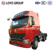 2016 Philippine hot sale model HOWO A7 10 wheelers tractor truck