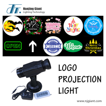 Indoor Rotating Led Gobo Light projector Led Logo Light Projector