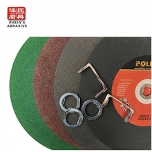 Newest design high quality abrasives cut off wheel for metal,flat cutting disc