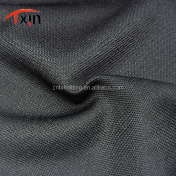 Tear resistant 100% Polyester Small Diamond Shaped Interlock Fabric for shoes/bag