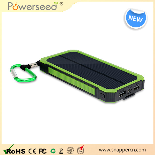 Li-polymer battery portable solar charger