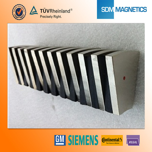 Customized Neodymium Arc Magnets magnet for motor n52 magnets