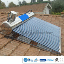 Non-Pressure calendores solares 250 litre roof top installed free energy hot water heating