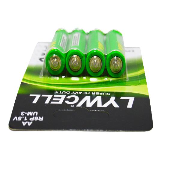 dry battery cell 1.5v um3 R6P battery aa size battery with best price