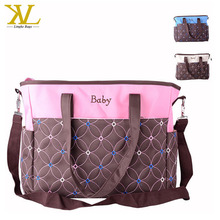 Diaper Bag Designer Canvas Cute Baby Change Pad multifunctional Baby Diaper Backpack With Insulated Pockets