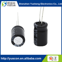 Small size Lead Wire Terminal Type Electrolytic 400V D8 L12 Capacitor