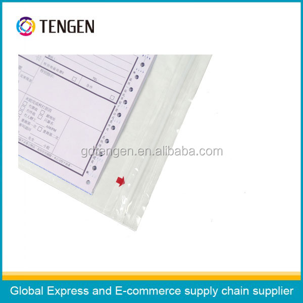 Waterproof packing list envelopes with self adhesive A3 A4 B4 B5 A7 C5 C7size