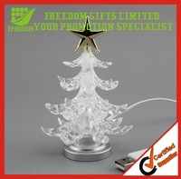 Promotion Gift Custom Logo Printed Color Changing Christmas Tree