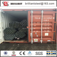Tianjin electrical metallic tubing ul 797 emt threaded galvanized steel pipe 1 1/4 inch emt pipe