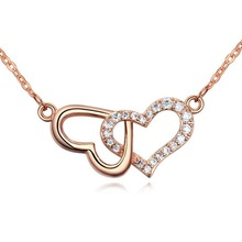 Latest Model Fashion Gold Plated Chain necklace Designs for women