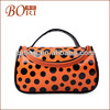2014 latest fashion promotion cosmetic bag canvas sweater storage bag
