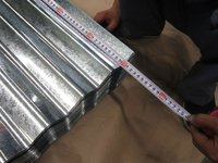 Thin Gauge Galvanized Corrugated Steel Sheets
