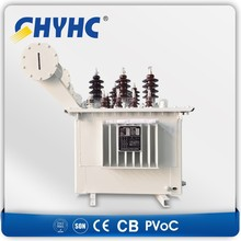 Power Transformer Manufacturer Single/Three Oil or Dry Type CE Approved electric transformer hs code