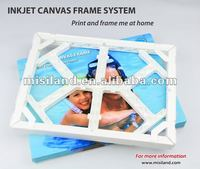 DIY Canavs Photo Plastic Frame/Plastic canvas kit (adhesive tape, photo printing on waterproof canvas)
