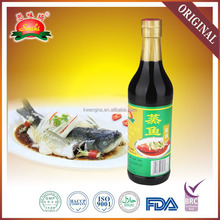 500ml best selling chinese branded steamed fish soy sauce