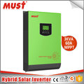 Solar inverter generator system Solar+AC work mode pure sine wave off grid on grid generator inverter