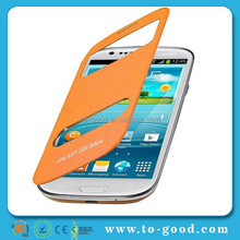 S3 Mini Case,S3 Mini Leather Case,Flip Leather Case Cover For Samsung Galaxy S3 Mini i8190