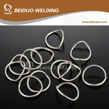 right angle welding rings brazing ring