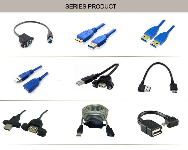 Hot sale USB3.0 A male to B male cable in any length