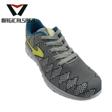 Chất lượng tốt breathable flyknit men sport running shoes