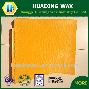 unprocessed beeswax