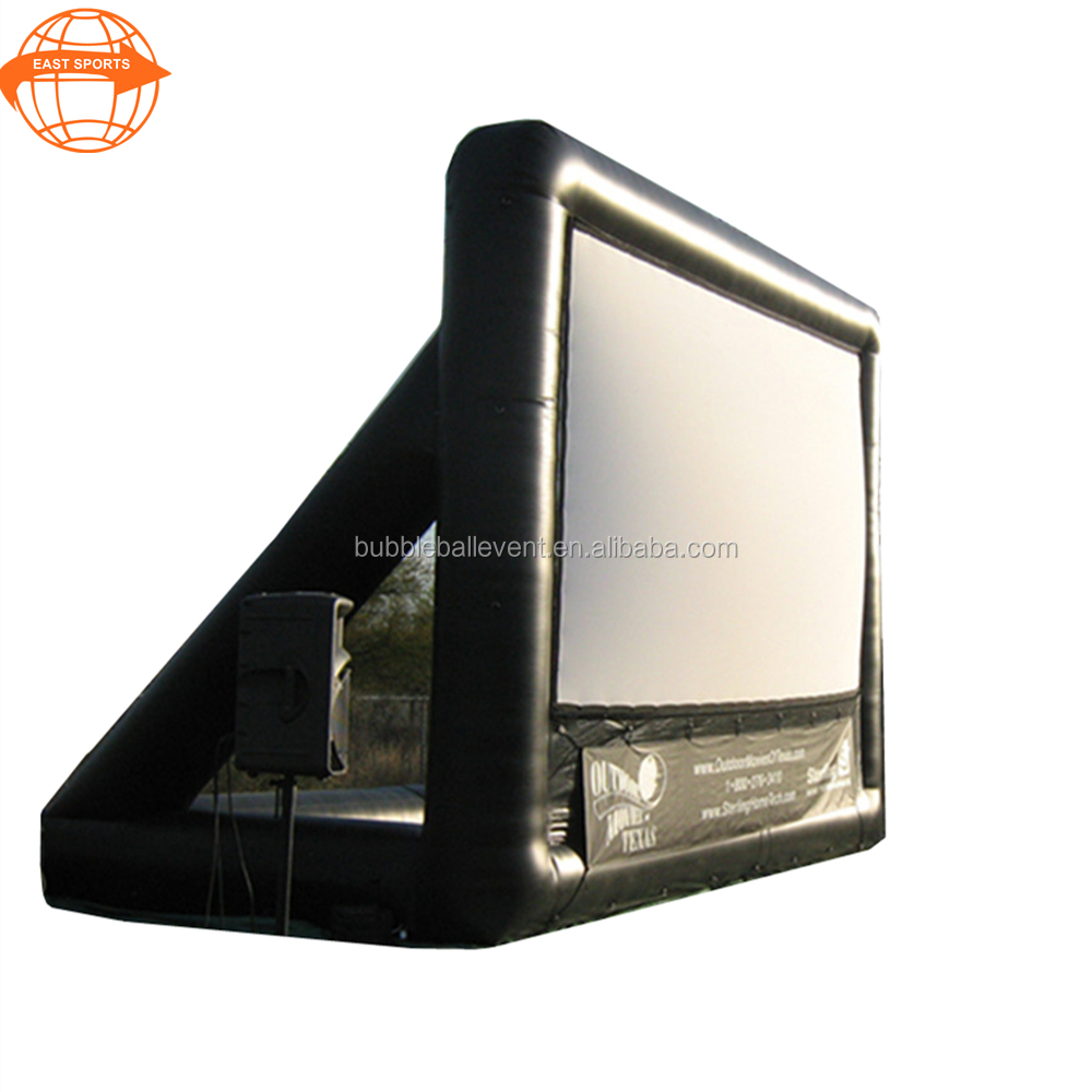 Outdoor Oxford inflatable movie projector screen for sale