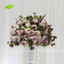 GNW CTRA-170809-005 High quality wholesale purple decorative artificial flower ball
