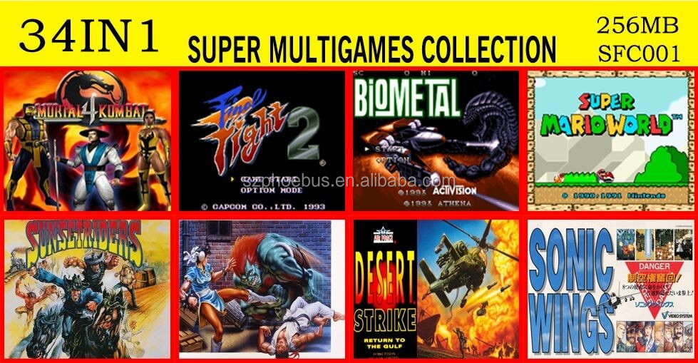 2016 New games for SNES Super Nintendo Entertainment System Super Mario SNES games