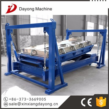 Large capacity drum sieve machine