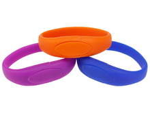 Colorful Cheap Silicone Bracelet Wrist Band Usb Flash Drives with Customized Logo 2GB 4GB 8GB