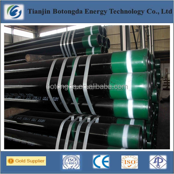 API pipe for oil field 5CT CASING GAS DRILL K55 OIL TUBE