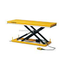 Large Platform Electric Lift Table Truck