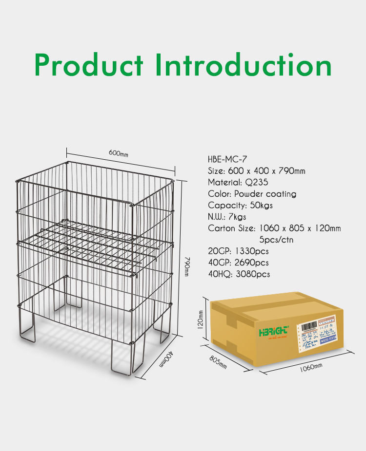 Retail foldable dump bin for promotion display supermarket showing box