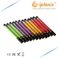 2016 best selling various voltages colored rainbow smoke cigarettes