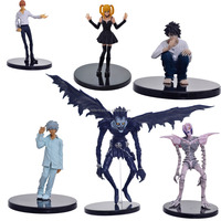 PVC Big Size Assembly Anime Death Note Action Figure Light Yagami Ryuk Model Toy Office Craft Decoration Gift full set