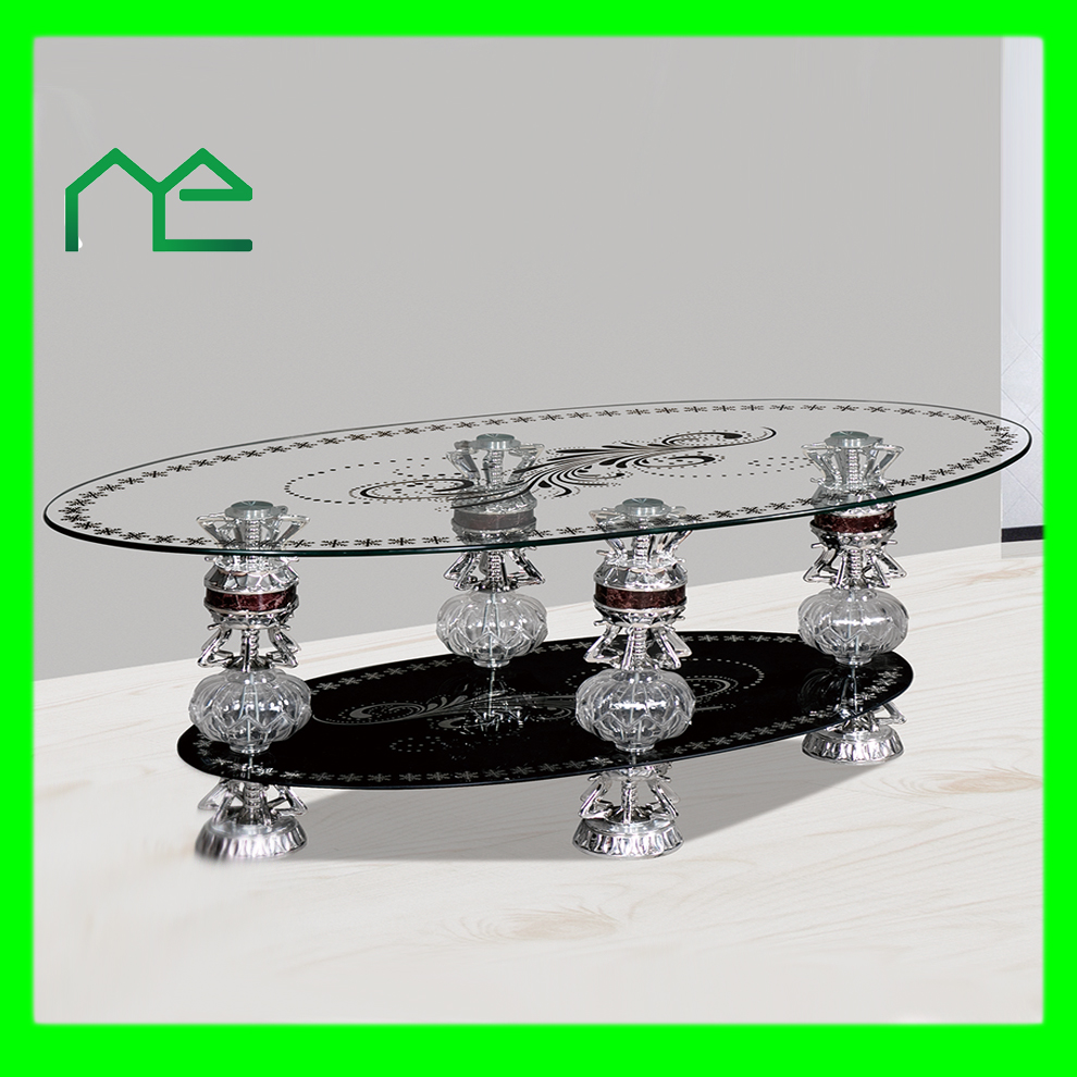 China Supplier High Tempered Glass Dining Table