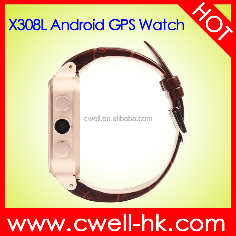 1.54 Inch IPS 3G Smart Watch Phone Android 4.4 Dual Core 1GB 8GB Wifi GPS Bluetooth V3.0 Single Micro SIM Card 3mp Camera