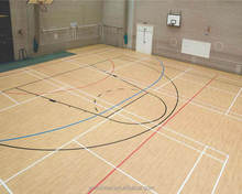 YIMEI PVC Sports flooring used for basketball court flooring