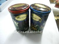Oval shape chocolate tin box