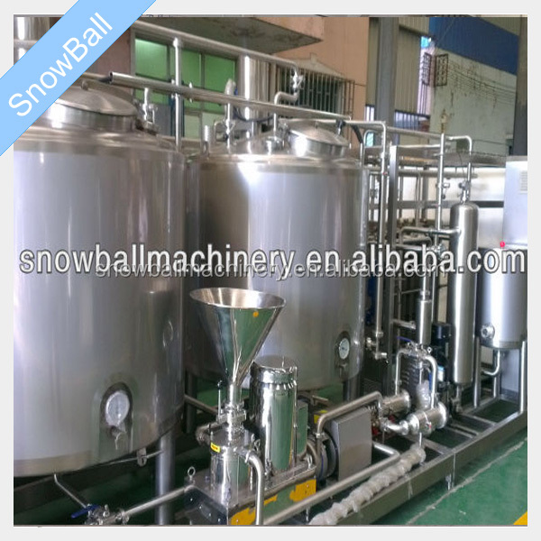 Low price and high quality stainless steel automatic SNM ice cream pasteurizer